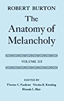 The Anatomy of Melancholy: Text