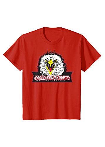 Coraltea Eagle Fang Karate T Shirt (Rojo,L)