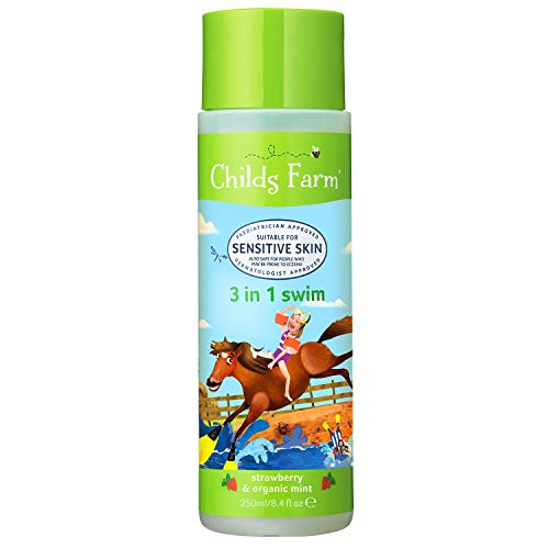 Childs Farm 3-in-1 Swim Strawberry & Bio-Mint, 250 ml