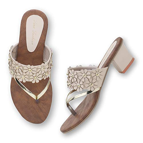 FINE FASHION Comfortable Casual Flats Sandal for Women and Girls Price in India