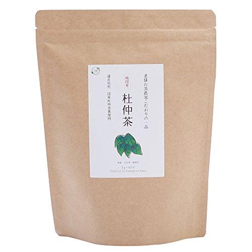 オーガライフプラス株式会社 杜仲茶 国産 ノンカフェイン ダイエット ティーバッグ 濃い 遠赤焙煎 3g×40包 [0273]