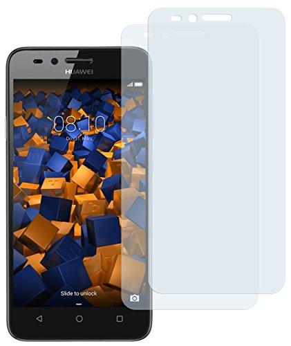 mumbi Schutzfolie kompatibel mit Huawei Y3 II Folie matt, Displayschutzfolie (2X) - 3
