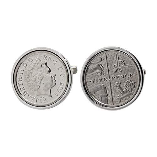 2 nd mariage anniversaire cadeau pour men-2014 Anglais 5 Pence – 100% Garantie de Satisfaction