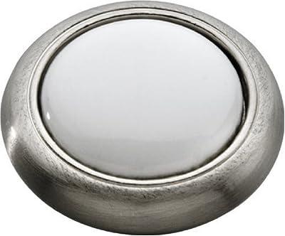 Knobware R06170K-SN 1-Inch Satin Nickel Dome Knob
