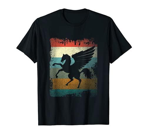 Vintage Pegasus Tee Retro Greek Mythology T-Shirt