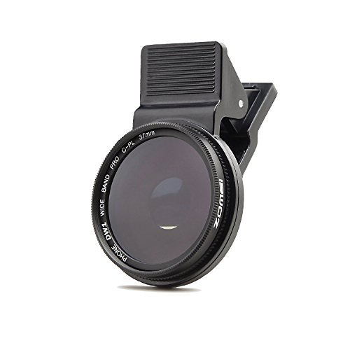 ZoMei Professionelle Handy Kamera 37 mm Zirkulärer Polfilter CPL Objektiv für iPhone 6S/6S Plus/Samsung Galaxy/Windows und Android Smartphones