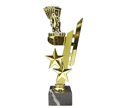 RaRu Poker/Skat-Pokal (Sternenhalter) mit Ihrer Wunschgravur