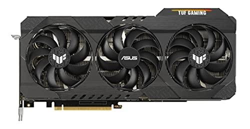 TUF Gaming NVIDIA GeForce RTX 3070 Ti OC Edition - Tarjeta gráfica Gaming (PCIe 4.0, 8 GB GDDR6X, HDMI 2.1, DP 1.4a, Ventiladores con Doble rodamiento de Bolas, Certificación Militar, GPU Tweak II)