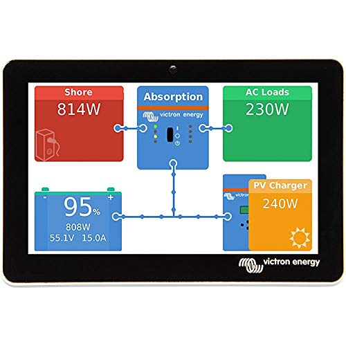 Victron Energy GX Touch 50, Panels and System...