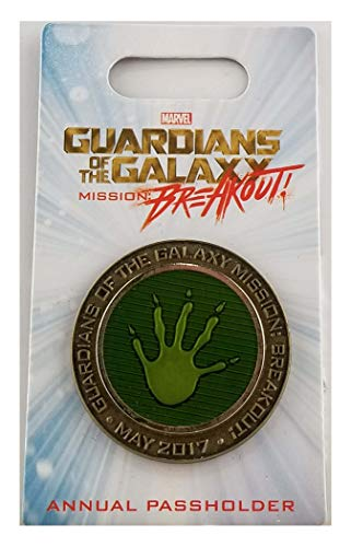 Disney Pin - DCA - Annual Passholder - Marvel Guardians of the Galaxy - Mission: Breakout - Opening...