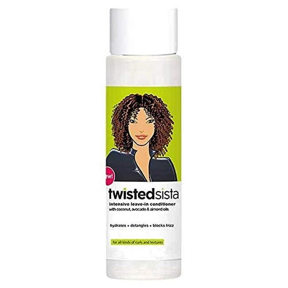 いわゆるきれいに虚偽[Twisted Sista] コンディショナー354ミリリットルでツイストSista休暇 - Twisted Sista Leave In Conditioner 354ml [並行輸入品]