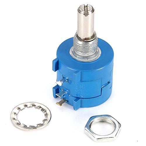 RoXane 3590S-2-103L Potentiomètre Rotatif De Précision Bobiné 10K Ohm Bourns 10 Tours