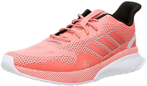 adidas Women's NOVAFVSE X Running Shoe, Signal Coral/Signal Coral/Glow Orange, 11 M US