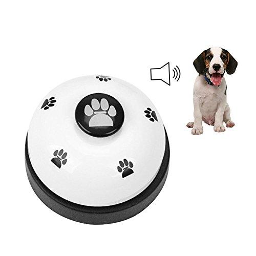 GFEU Dome Fußabdrücke Pet Hunde-Klingeln Glocken für Töpfchen und-Gerät