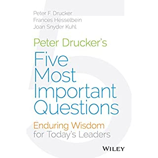 Peter Drucker's Five Most Important Questions cover art