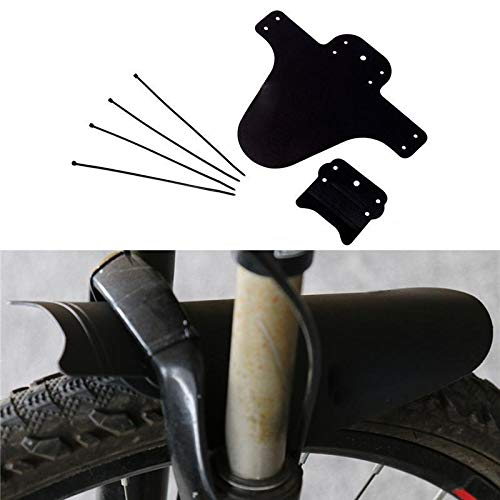 ZGYCYDLX 1Pair Bicycle Lightest MTB Mud Guards Tire Tyre Mudguard For Road Bike Fenders Bicycle Fenders Bike mudguard