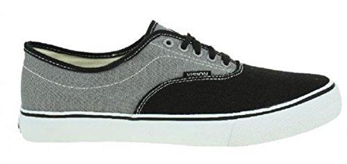 Vision Street Wear Skateboard Schuhe Sciera13 Black/Grey - Sneakers Sneaker, Schuhgrösse:46, Farbe:Black/Grey