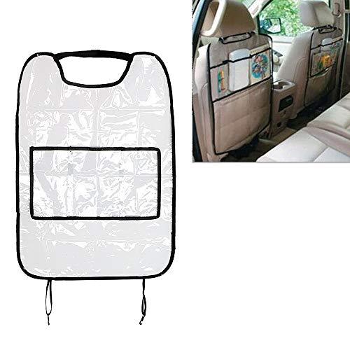 Preisvergleich Produktbild LSTC Mit Tasche Wasserdichter Reiseorganisator Rückenlehnenschutz für Kinder Kick Mud Mats Autositzbezüge Autospeichertaschen