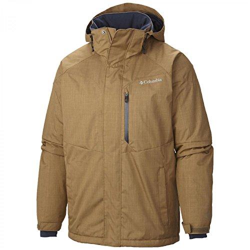 Columbia Men's Alpine Action Jacket, Delta, Large