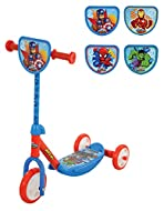 CHARACTER FAVOURITES - officially licensed with Avengers favourites Ironman, Spider-man, Hulk and Captain America! Featuring brightly coloured decals, shaped plaque and components ideal for visual development! SWITCH-IT! - Comes completed with 4 char...