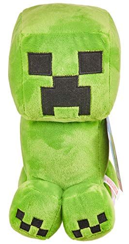 Minecraft Plush 8-in Creeper Character Doll, Soft, Collectible Gift for Fans Age 3 and Older
