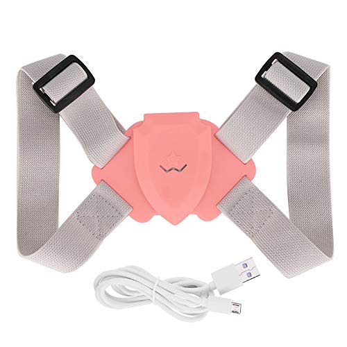 New SunshineFace Smart Sensing Back Corrector Adjustable Hunchback Chest Backward Posture Correction...