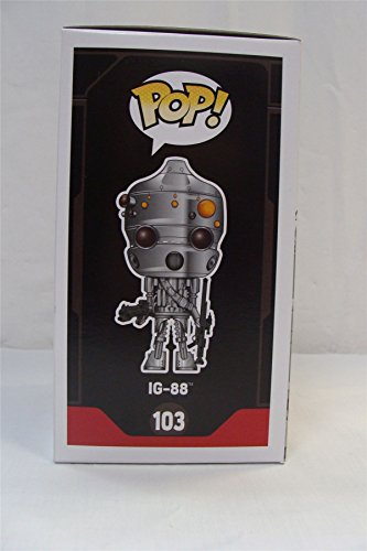 Funko POP Star Wars: IG-88 Action Figure Exclusive Smuggler's Bounty