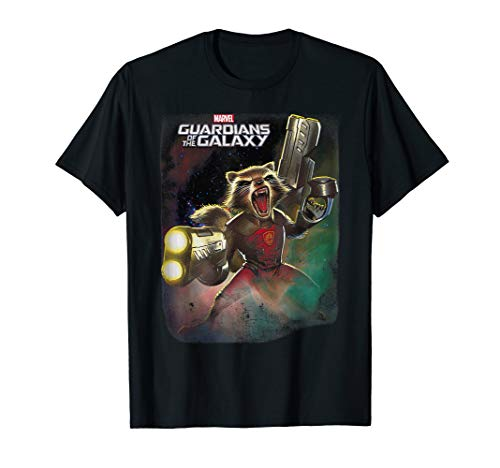 Marvel Guardians of the Galaxy Rocket Ready Graphic T-Shirt