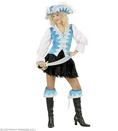 WIDMANN Desconocido Disfraz de Piratesa Real Azul