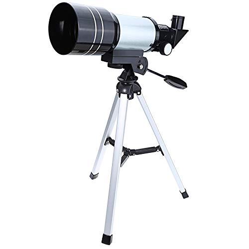 JSANSUI Buscador de Rango de Caza F30070M portátil de Alta definición Profesional High Times Espace Telescopio astronómico Telescopio con el trípode
