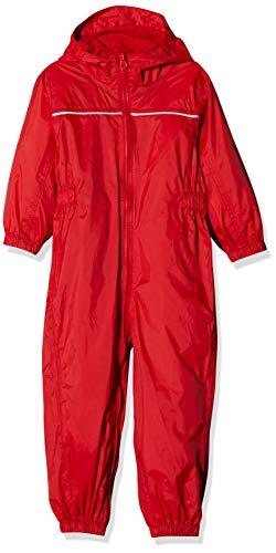 Regatta Paddle Vêtements de Pluie Enfant, Rouge Classique, Size 18-24