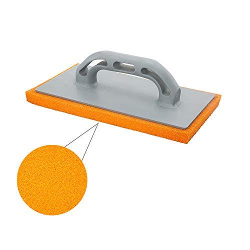 WOLFPACK LINEA PROFESIONAL 2300355 Talocha Espuma Naranja Mango De Fibra 14x28 cm. Acabado Fino