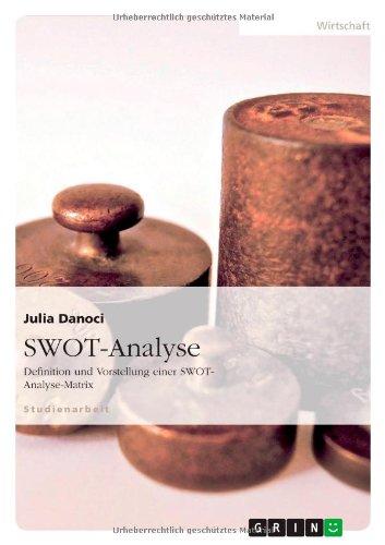 SWOT-Analyse. Definition und Vorstellung einer SWOT-Analyse-Matrix