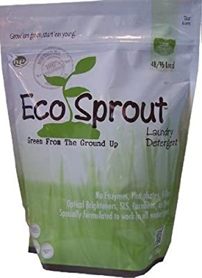 Eco Sprout Laundry Detergent (48/96 loads, Fresh Linen)