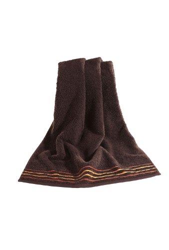 Vossen De Luxe (Braun), Dark Chocolate-Handtuch, 50 x 100 cm