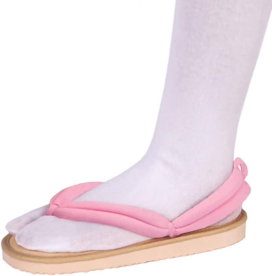 Clogs for Demon Slayer Shoes,for Kamado Nezuko Cos,Men Women Traditional Samurai Japanese Geta Clogs Wooden Flip Flops