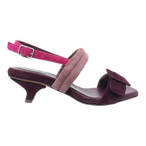 POMME D'OR Damen Schuhe Sandalen Pumps 4481A Camoscio Bordo' Wildleder Neu