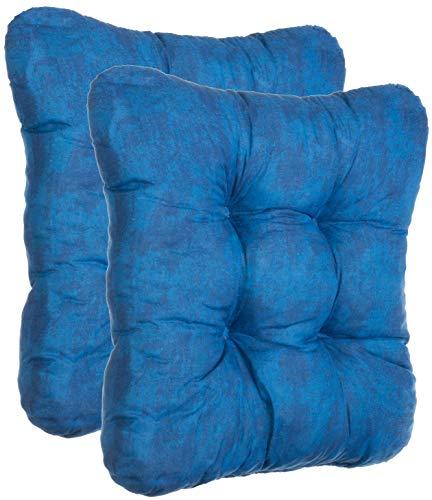 Brandsseller - Juego de 2, 4 y 6 cojines decorativos para silla