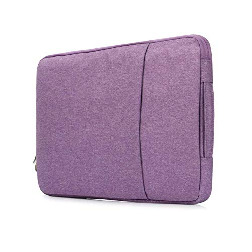 Caja De La Bolsa De Manga para Portátil para Apple MacBook Pro Mac Book Air 11 12 13 13.3 15 15.4 15.6 16 Pulgadas Xiaomi Lenovo DELL Cubierta Accesorio (Color : Purple, Size : For Macbook 11inch)