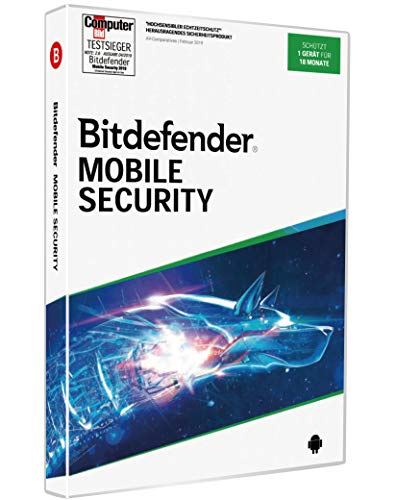 Bitdefender Mobile Security 2020 1Gerät/18Monate