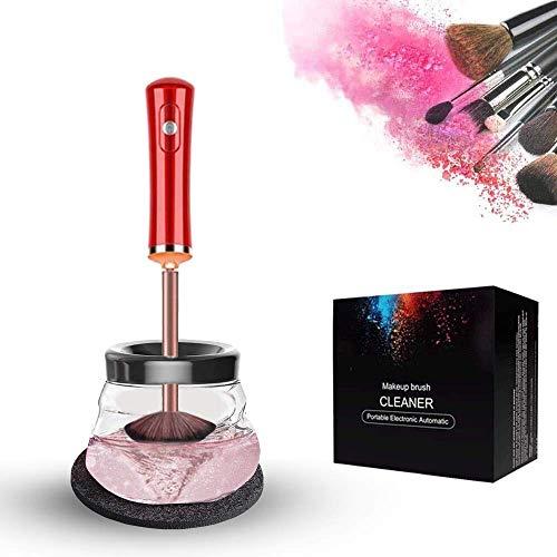 Pinsel Reiniger Make Up Trockner,10 Sekunden Waschen Und Trocknen,Ruhig Und Anti-Shake,Elektrische Pinselreiniger Set,Automatische Tiefenkosmetik-Make-Up-Pinselwerkzeug
