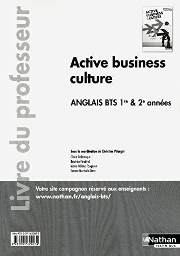 Active Business Culture Bts 1re Et 2e Annees B2
