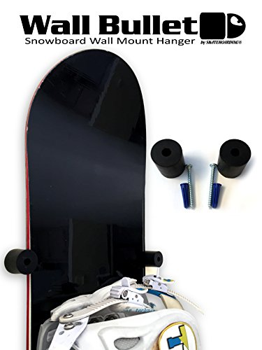 SkateHoarding Wand Bullet Snowboard-Wandhalterung Display Aufhänger Rack