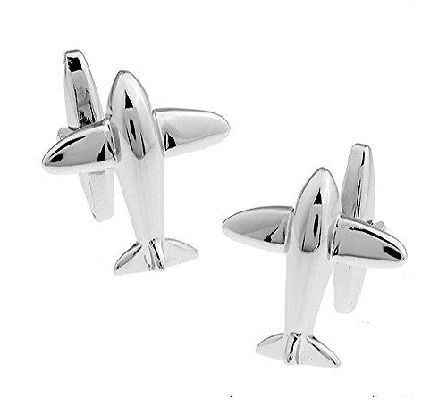 Mach 6 Flugzeug Manschettenknöpfe. Neuheit, flugzeug, flugzeuge, Luftwaffe Manschettenknöpfe