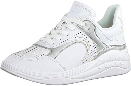 Guess Sneakers FL6SA5 Sneakers con Lacci in Pelle Donna