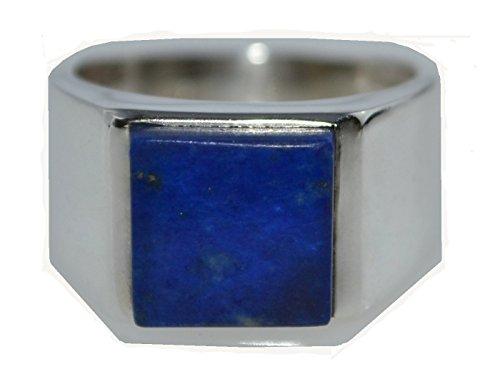 Avant Gems Herren -  925 Sterling-Silber  Sterling-Silber 925 Quadratschliff   blau Lapis Lazuli