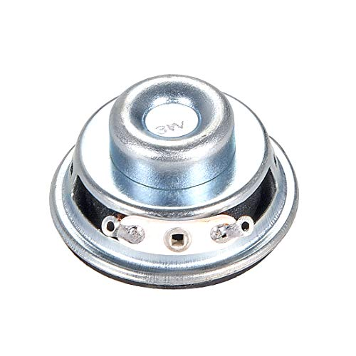 sourcing map 3W 4 Ohm Altoparlante 36mm Forma Rotonda per DIY Audio Altoparlanti