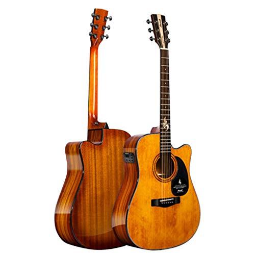 Musikinstrumente Gitarre Single-Board-Gitarre Blues-S25G-DCG E-Bass Gedenk-Flaggschiff Furnier Für Männer Und Frauen Anfänger Ballade Box Gitarre 41 Zoll Bakelit Dual-Use-Modelle Gitarren