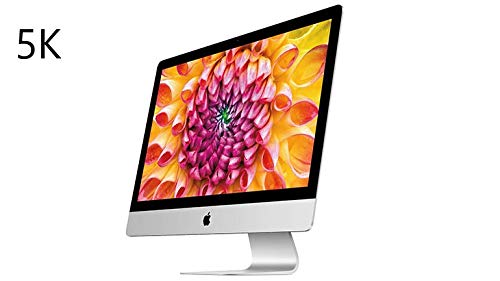 Apple iMac 5k / 27 pollici/Intel Core i7 4 GHz/RAM 32 GB/Radeon R9 / fushion drive 1000 GB/ A1419 (Ricondizionato)