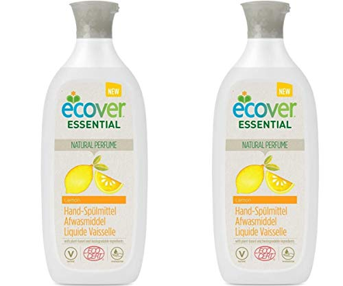 Ecover Essential Bio Hand-Spülmittel Lemon 500ml (2 x 500 ml)